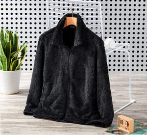 2021 New Winter Brand Mens Jacket Fleece Jackets Fashion Soft Fleece Warm Coats Outdoor