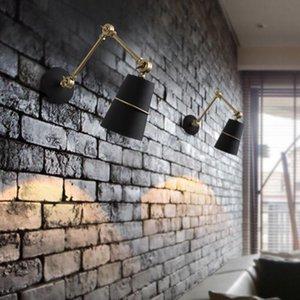Wall Lamps Industrial Style Modern LED Lamp Decor For Bedroom Bedside Lighting Cafe Restaurant Decoration Bathroom Vanity Lights