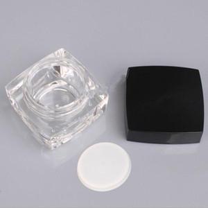 5/10 г квадратный кубик акриловая банка ясного крема горшок мини косметический контейнер макияж образный банку упаковки бутылка F20212141