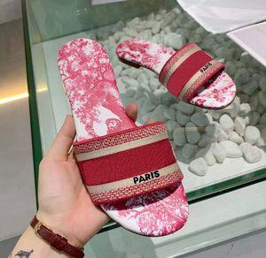 2021 Женщина Джинсовые тапочки Falt Обувь Сандалии Beach Слайд Высококачественные Тапочки Мода Duffs Тапочки для Леди по Shoe02 05