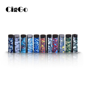 OriginalCiggo Hipuff S Disposable Vape Pen 1.0ml Refillable Cotton Ceramic Coil 280mAh Thick Oil Pod Device Closed Up System