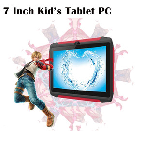 Nouveau Kid Tablet PC Q98 Quad Core 7 pouces 1024 * 600 HD Screen Android 9.0 Allwinner A50 Real 1GB RAM 16GB Q8 avec WiFi Bluetooth