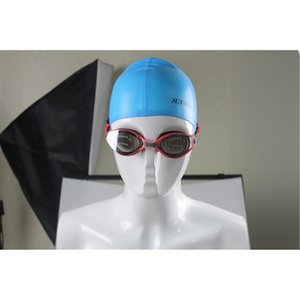 Cam Jel Büyük Çerçeve Gözlük Kaplama Anti-Sis Yüzmek Kadın Ayarlanabilir Silika Anti-Uv Gözlük erkek Lens Kazı Korumalı Renkli WNOTL
