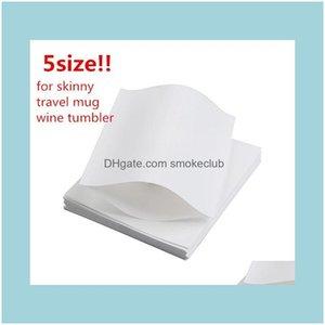 Packaging Paper Packing Office School Business & Industrialshrink Sleeves Heat Shrink Wrap Bags For Skinny Tumbler Travel Mug Wine Glass Hom
