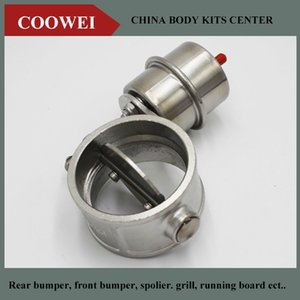 2.5''inch Stainless steel Variable Exhaust Control Valve Set Vacuum Actuator 63 MM pipe Open Style