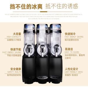 Commercial Trois cylindres Snow Melting Machine de haute qualité Smoothie Professionnel Smoothie Machine de boissons froides Fast Refroidissement 830W