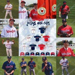 The Worcester البيسبول جيرسي مخصص أي اسم رجل إمرأة شباب جميع خياطة البيسبول الفانيلة الأبيض الرمادي الأحمر البحرية S-6XL