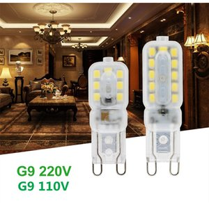 Mini G9 LED Corn Light SMD 2835 Bulb Spotlight For Chandelier Replace 30W 40W 50W Halogen Lamp 14LEDs 22LEDs AC 220V 110V