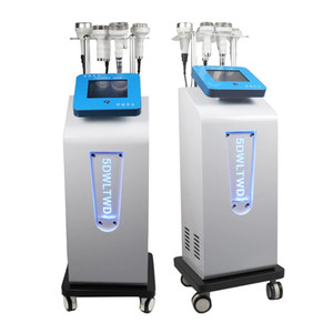 80k Ultrasonic Slimming Machine Cavitation Beauty System 5D Carving Instrument Rf Vacuum Face Lift 6 in 1