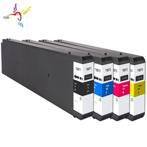 Ink Refill Kits T8871-T8874 Cartridge With Pigment And Chip Compatible For Workforce WF-C17590a WF-C17590c Printer