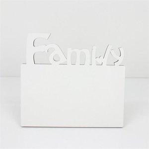 Woodiness Sublimation Leere Frames MDF DIY Dreidimensionale Aushöhlung Ausleger Blatt Schieferbuchstaben Form Laserschneiden Home Zubehör BWB4944