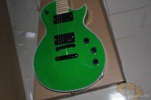 2014 Top Quality standar Eclipse vinatge green color CUSTOM SHOP EMG pickup electric guitar