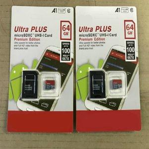 DHL shipping 16G 32GB 64GB 128GB 256GB SDK micro sd card  PC TF card C10 Actual capacity memory card SDXC storage card 100MB S