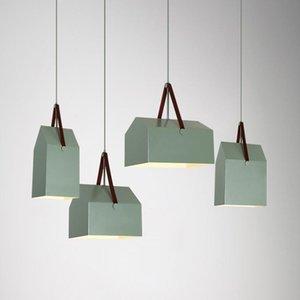 Pendant Lamps Nordic Design Lamp Led Light Living Room Decoration Suspension Luminaire Lampshade Kitchen bedside Lustre Fixture