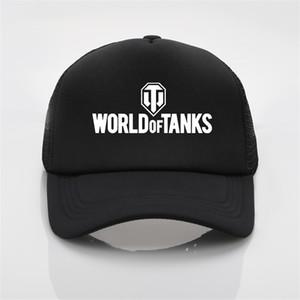 Juegos World of Tanks Gorra de béisbol Hombres y mujeres Sombreros de verano Trend Cap New Sun Hat Baseballcap Boys C0305