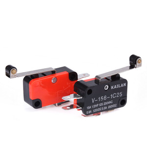 Micro Switch Lever Long Hinge Lever Arm Roller NO+NC 100% Brand New Momentary Limit Micro Switch SPDT Snap Action