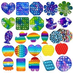 Rainbow Styles Fidget Bubble Sensory jouet pour l'autisme a besoin d'enfants adulte enfants drôles jouets anti-stress rapides livraison rapide