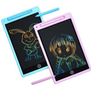 Tablette d'écriture LCD de 8,5 pouces Tablette d'écriture en un clic Panneau de dessin Bébé Paper sans papier Tablettes Tabouts d'écriture pour enfants