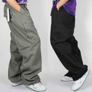 2021 Moda Casual Erkek Kargo Gevşek Baggy Bahar Yaz Hip Hop Hare Pantolon Runner Adam Giysileri Artı Boyutu YVS1