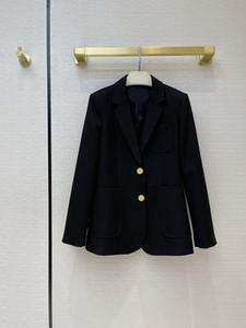 Milan Runway Coats 2021 Lapel Neck Long Sleeve Women's coats Designer Coats Brand Same Style Jackets 0306-5