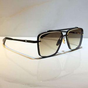 Eyewear Men Model M Sei in metallo Vintage all'ingrosso Occhiali da sole Occhiali da sole Square Frameless UV 400 Lente Viene fornito con il pacchetto Stile classico