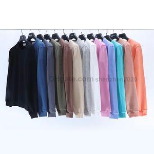 Brand Autumn Winter Long Sleeve Hoodies Lovers Style Round Neck T Shirt Hoodie Embroidery Armband ICON Necessary #UT604 Men's Sweatshirt
