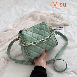 2021 Crossbody Bag For Women Shoulder Bag Designer Women Bags Luxury PU Leather Bucket Handbag Sac A Main Femme Ladies Bags