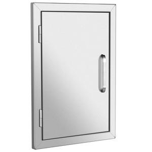 """304 Acesso Único porta de parede 17 """"x 24"""" BBQ Cozinha Titular em aço inoxidável"""