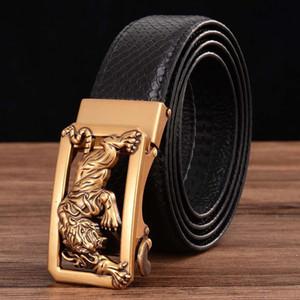 حزام الرجال حزام الاليتولوك جلد اسئلة حزام للرجال مع والعتاد التلقائي مغلقة في صندوق سام أنيق
