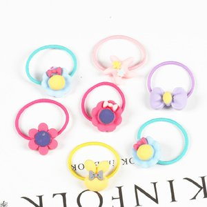 Rubber band set new contracted children head rope Korean edition cartoon cute baby tie hair jewelry wholesale 2021