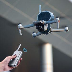 For Drone Accessories Loudspeaker for DJI Mavic Mini Pro Air Mavic 2 Pro FIMI X8SE X193 SG906 SG907 F11 E520 Wireless Megaphone Y0302