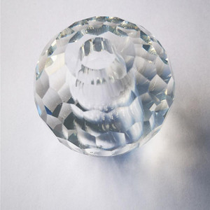 Top Quality 4Shapes Clear K9 Crystal Chandelier Accessory With Hole DIY Suncatcher Table Lamp Part Glass Honeycomb Faceted Balls