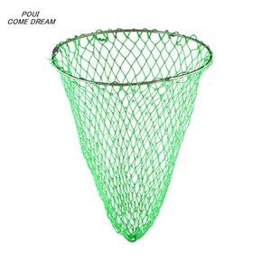 Linha de nylon forte rede rede de diâmetro cabeça 60cm aço inoxidável soldadura anel sólido rede de pesca turck rede de difamação