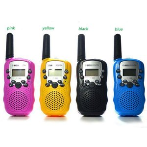 30pcs Mini Walkie Talkie Travel T-388 0.5W UHF Auto Multi Channels 2-Way Radios DHL free