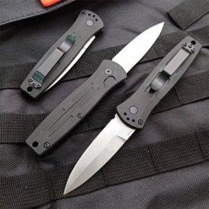 Farfalla in coltello BM3551 154 cm Blade in acciaio Stonewash Pocket Knife Azione singola TACTICALE COLTIFINI PESCA EDC STUTTAL A3117