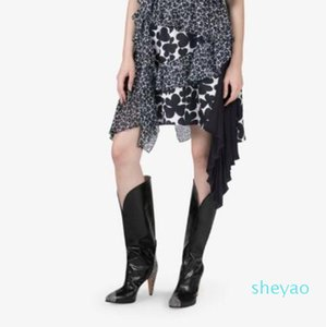 Brand Knee High Boots Women High Heel Winter Party Shoes Night Club Prom Motorcycle Boots Snake Pattern Sexy Shoes