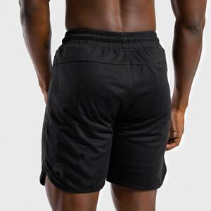 Men Shorts Bodybuilding Mens Summer Gyms Workout Breathable Mesh Quick Dry Sportswear Jogger Beach Short Pants SFXM