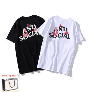 2021 мужская футболка с коротким рукавом с коротким рукавом высокое качество футболки чистые хлопчатобумажные летние футболки писем печать хип-хоп стиль одежды с тегом