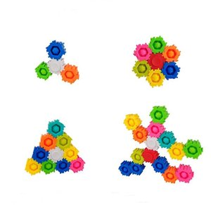 Building Blocks Fidget Spinner Toy Unlimited Splicing Combination Buildings Block Puzzle For kids Adoults Decompression Toys