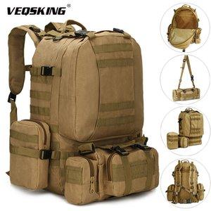 Zaini tattici da 25-50L tattici zaino militare escursionismo trekking zaino viaggio borsa sportiva borsa da corsa all'aperto bagnata