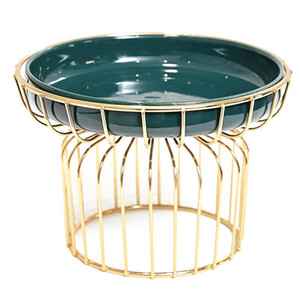 Nordic Fruit Plate Light Luxury Home Soggiorno Dessert Candy Plate Frutta essiccata in ceramica multiuso