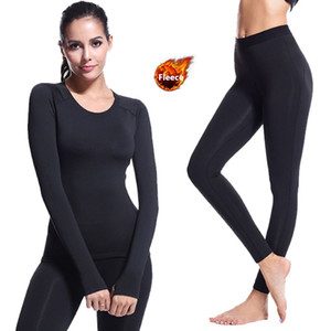 Shirt Thermal Underwear Women Seamless Long Johns Women Thermal Clothing Sexy Ladies Clothes Winter Thermal Sports Suit