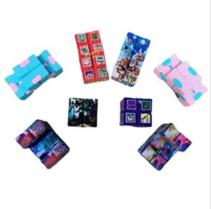 Decompression Toy Infinity Magic Cube Creative Christmas Halloween Fitget toys Antistress Office Flip Cubic Puzzle Mini Blocks