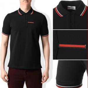 2021 Italie Styliste Classic Polos Shirt Hommes Bee Broderie Collier Mens Casual Coton Polo Chemise Snake Tigre Tee Tee Tee Tee Poloshirt