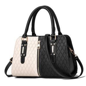 Evening Bags GLMAHUA Fashion For Luxury Handbags Women PATCHWORK Designer Crossbody Pu Leather Black Soft Washed Messenger Flap Bag