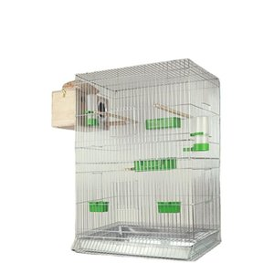 Bird Cages Metal Large Cage 304 Stainless Steel Parrots Multifunctional Gaiolas Passaros E Aves Pet Accessories BS50NL