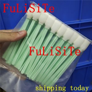 50 pcs Foam cleaning swab sticks for Roland for epson for mimaki Solvent Swaps Printhead Printer cleaning Tool stickers sponge