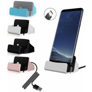 Usb C Dock Station Type C Charging Stand for Huawei P20 P30 Pro Samsung Galaxy S8 S9 S10 Plus Xiaomi Phone Docking Usbc Charger