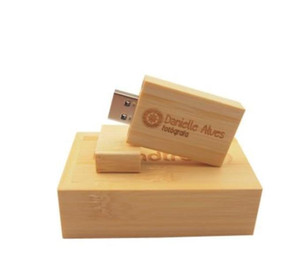Pendrive Personalizado Usb Flash Drive Wooden Pen Drive 4Gb 8Gb 16Gb 32Gb 64Gb Usb 2.0 Wedding Gift(Over 20Pcs Custom Logo) Dwrwh Jy8Tb