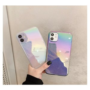 Drop gradient laser Aurora 12 pro max for Phone case XS frosted hard case starry sky BY DHL